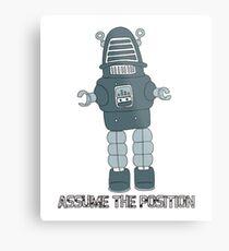 Assume the Position Metal Print