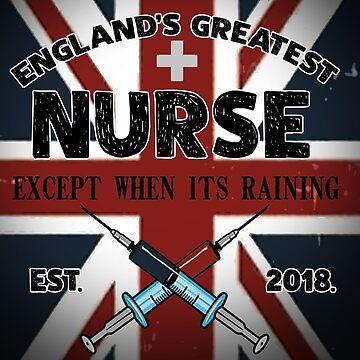 England's Greatest Nurse Except When Its Raining by Gestvlt