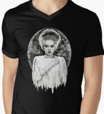 Frankenstein's Bride Men's V-Neck T-Shirt
