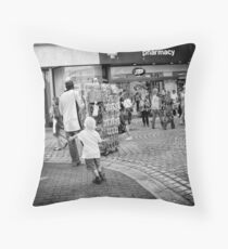 Because bubbles are made to be popped Throw Pillow