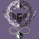 Symbole für die Mondgöttin Hekate von Christine Krahl
