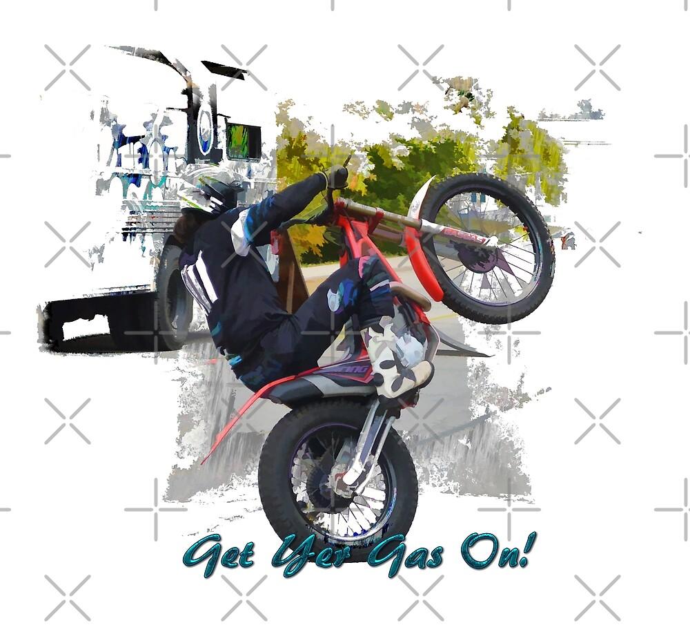Gas Gas ec300 Stunt Rider von Skye Ryan-Evans