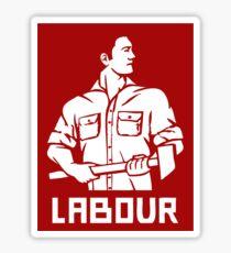 LABOUR MOVEMENT  Sticker