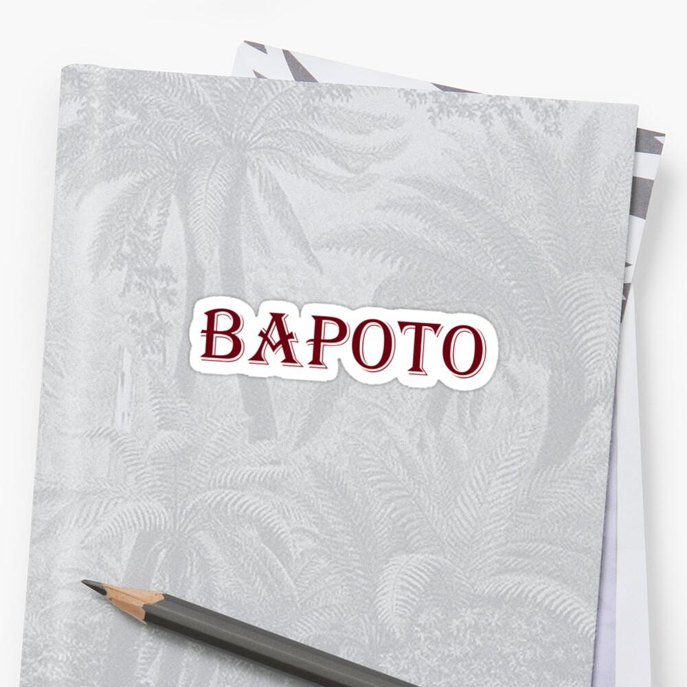 Bapoto by Melmel9