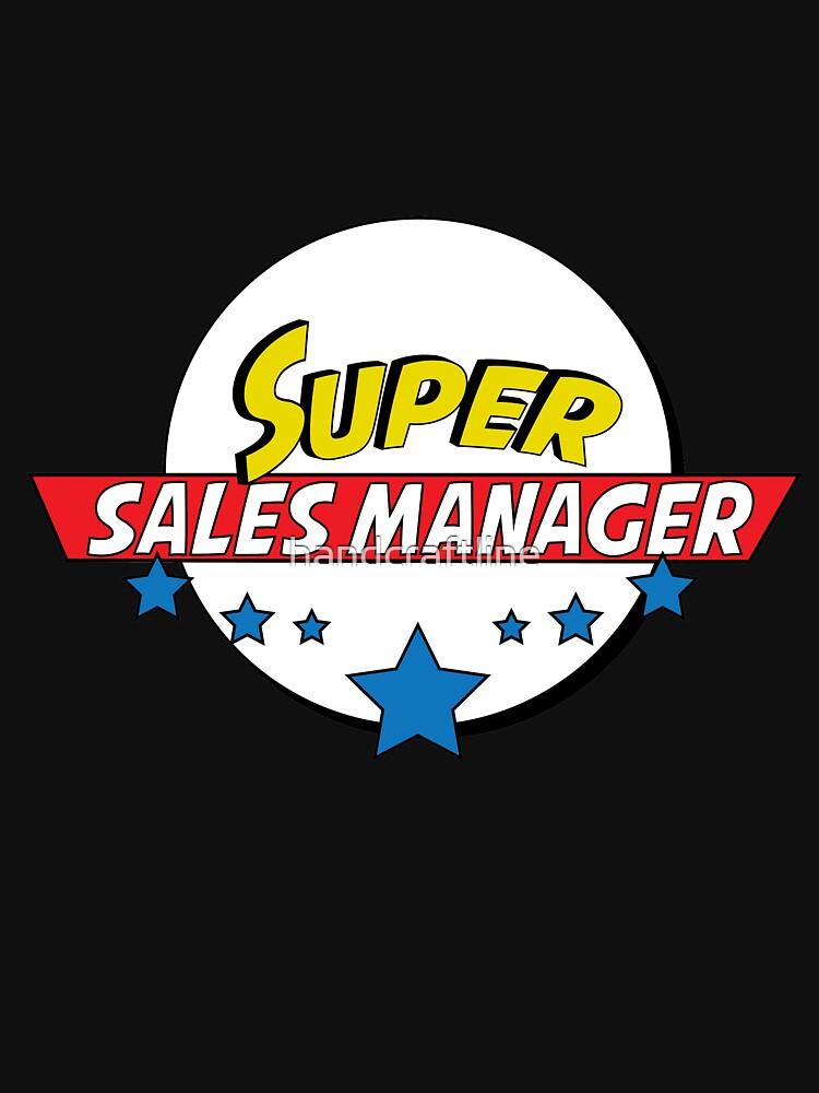 Super  sales manager, # sales manager  by handcraftline