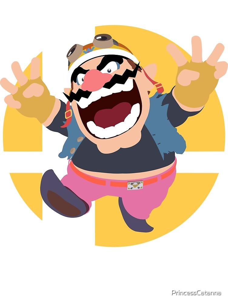 Wario - Super Smash Bros. Ultimate by PrincessCatanna
