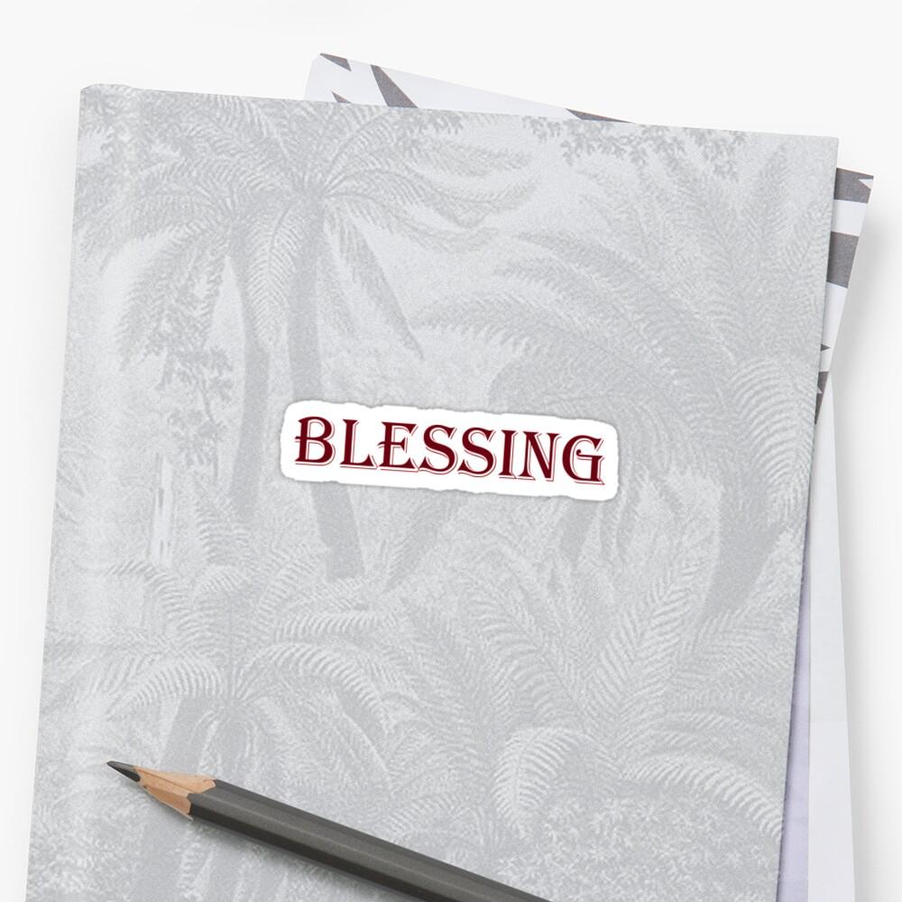 Blessing by Melmel9
