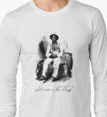 Twelve Years A Slave Solomon Northup Illustration Long Sleeve T-Shirt