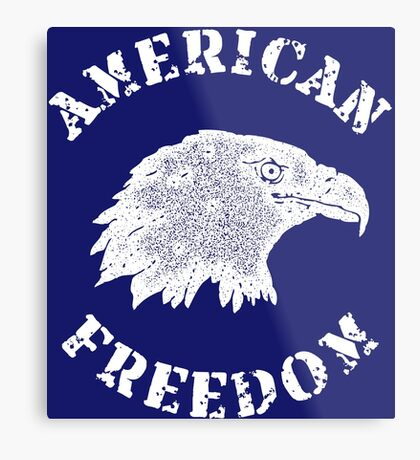 American Freedom Bald Eagle Metal Print