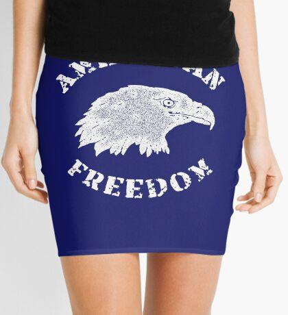 American Freedom Bald Eagle Mini Skirt