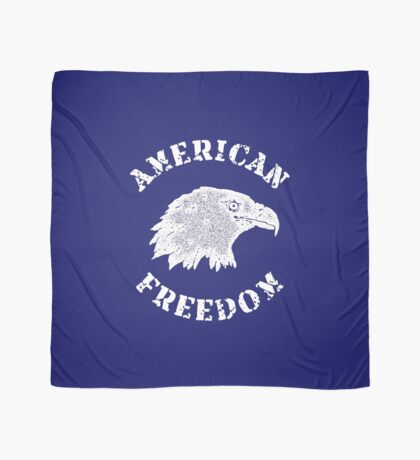 American Freedom Bald Eagle Scarf
