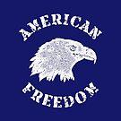 American Freedom Bald Eagle by Chocodole