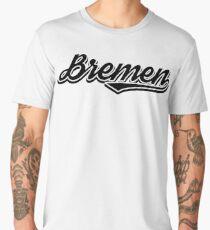 Bremen vintage city germany Men's Premium T-Shirt