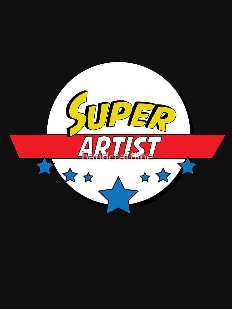 Super artist, #artist  by handcraftline