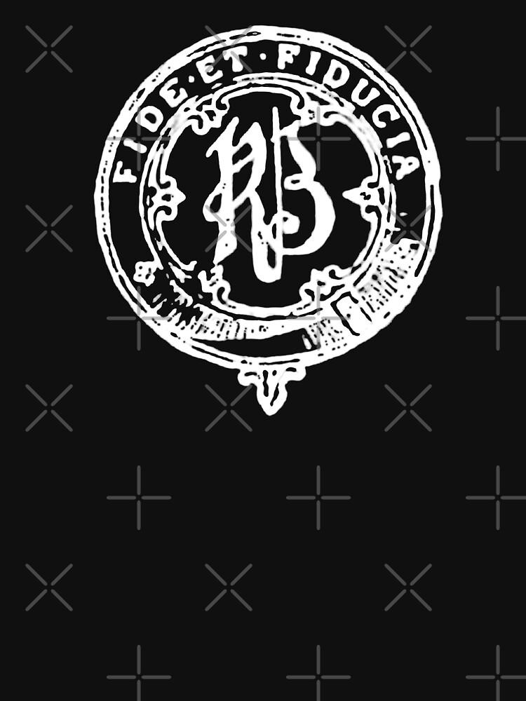 Fide et Fiducia (White Logo) by DiabloNegro