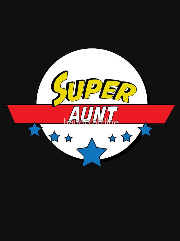 Super aunt, #aunt  by handcraftline