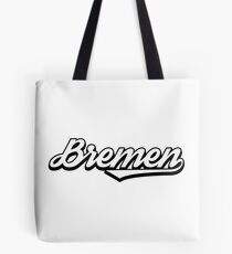 Bremen vintage city germany Tote Bag