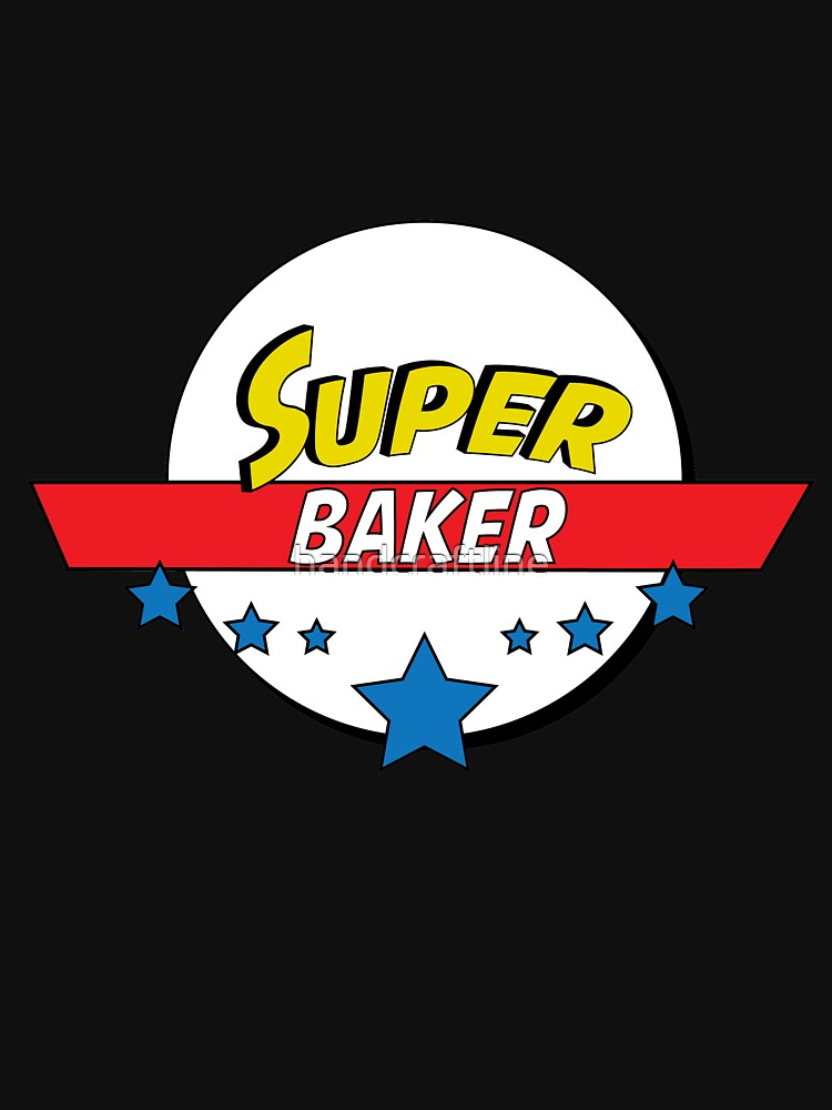 Super baker, #baker  by handcraftline