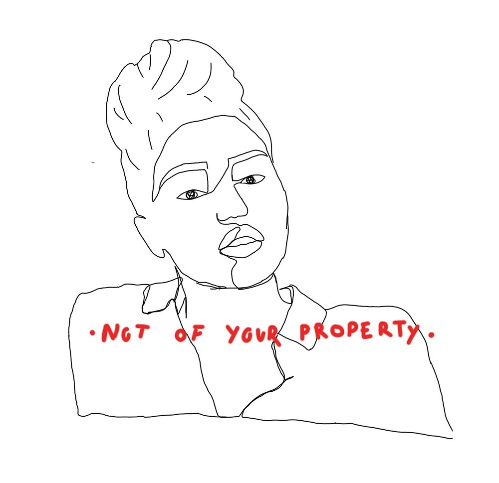 """""""Not of your property"""" by little-art"""