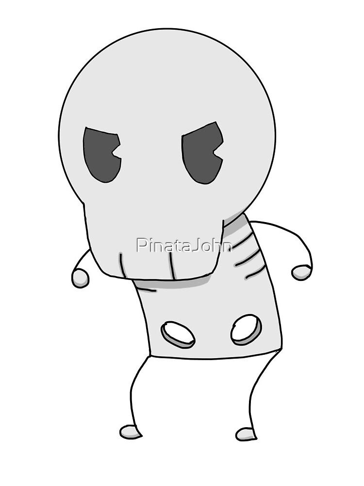 Angry Skeleton  by PinataJohn