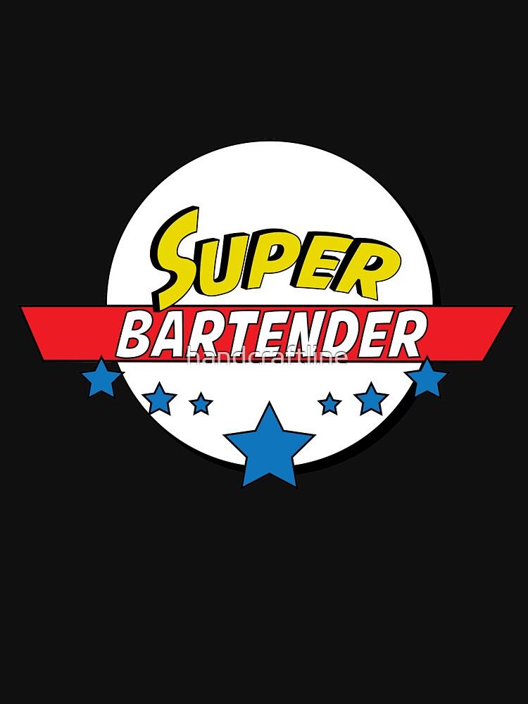 Super Bartender, #Bartender  by handcraftline