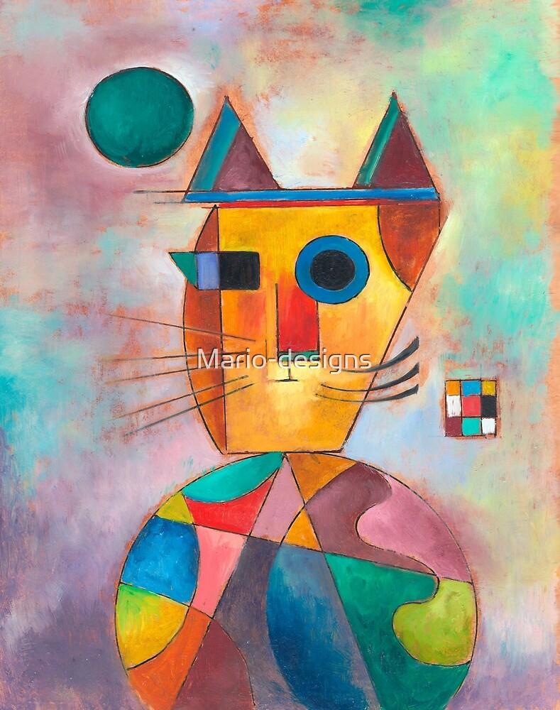 Kandinsky Cat by Mario-designs