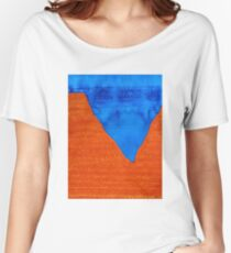Red Rocks original painting Women's Relaxed Fit T-Shirt