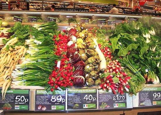 Fruit & Vegetables by AnnDixon