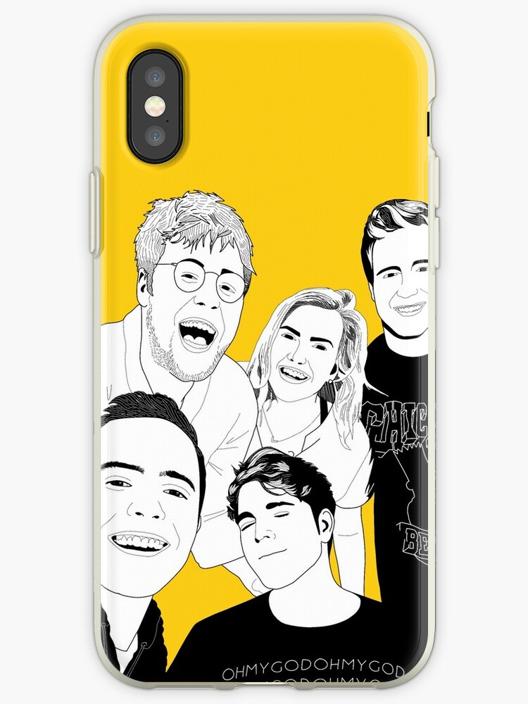 shane and friends yellow art by aamylouise