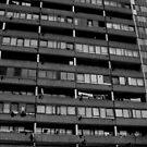 Heygate Estate Highrise, London by sarahtoure
