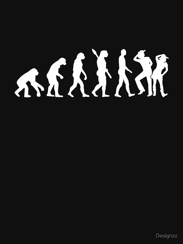 Line dance evolution by Designzz