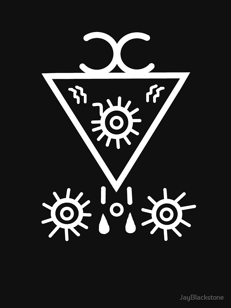 Seal of Lucifer - White by JayBlackstone