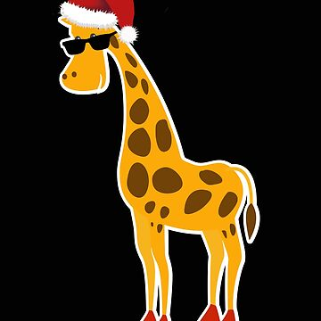 Christmas giraffe gift Christmas present by NadjaDesigns
