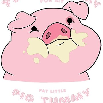 Waddles the Pig From Gravity Falls by PinataJohn
