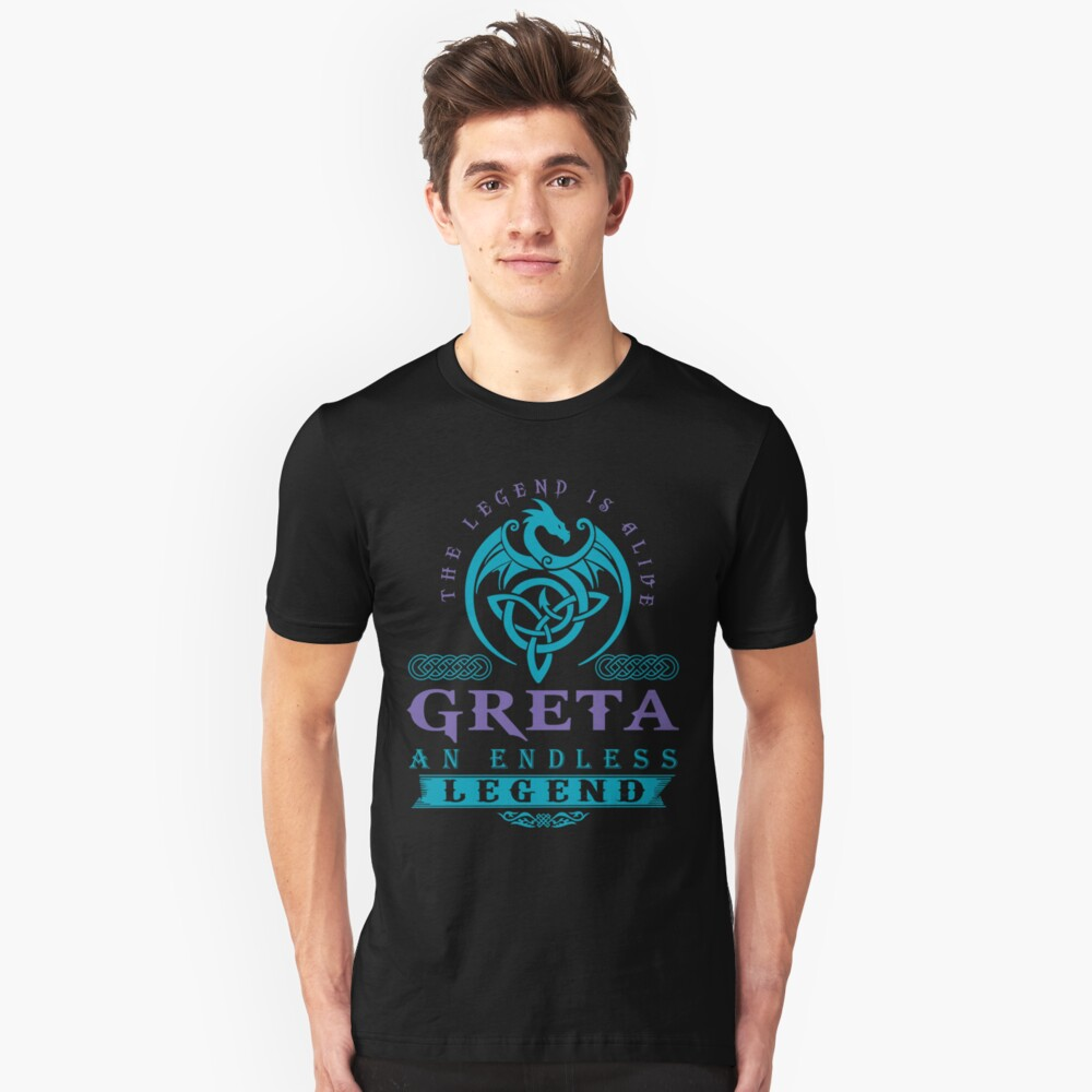 Legend T-shirt - Legend Shirt - Legend Tee - GRETA An Endless Legend Slim Fit T-Shirt
