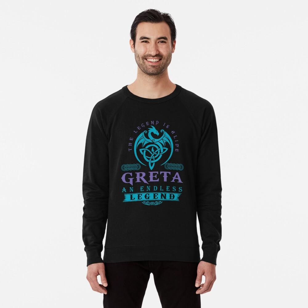 Legend T-shirt - Legend Shirt - Legend Tee - GRETA An Endless Legend Lightweight Sweatshirt