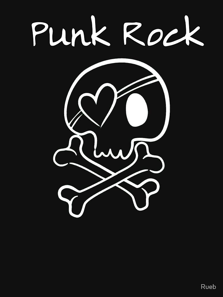 Punk Rock Skull Skull by Rueb