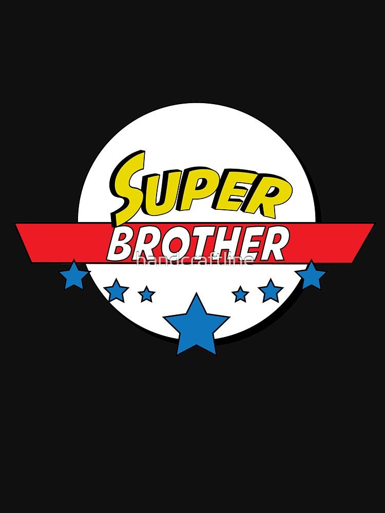 Super brother, #brother  by handcraftline