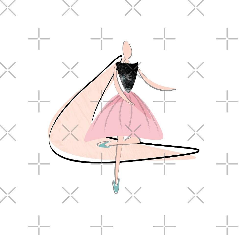 Dancing girls 50s boogie woogie by Kassia J Markowska