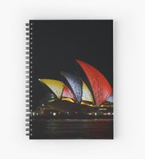 Vivid 2016 - Song Lines #3 Spiral Notebook