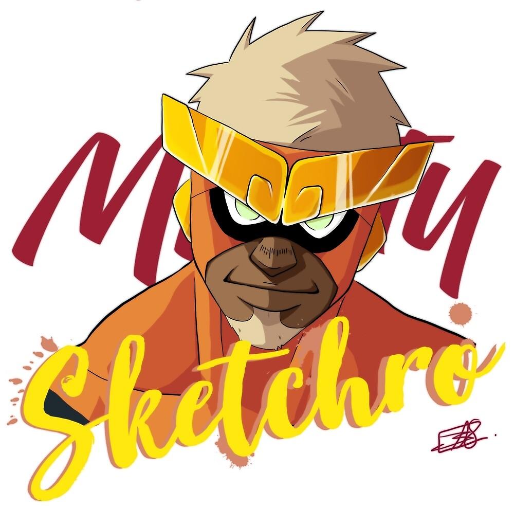 Mighty Hero by Mightysketchro