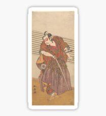 Kabuki Samurai Sticker