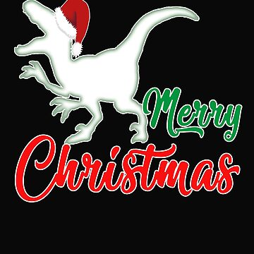 Christmas dinosaur Christmas present by NadjaDesigns