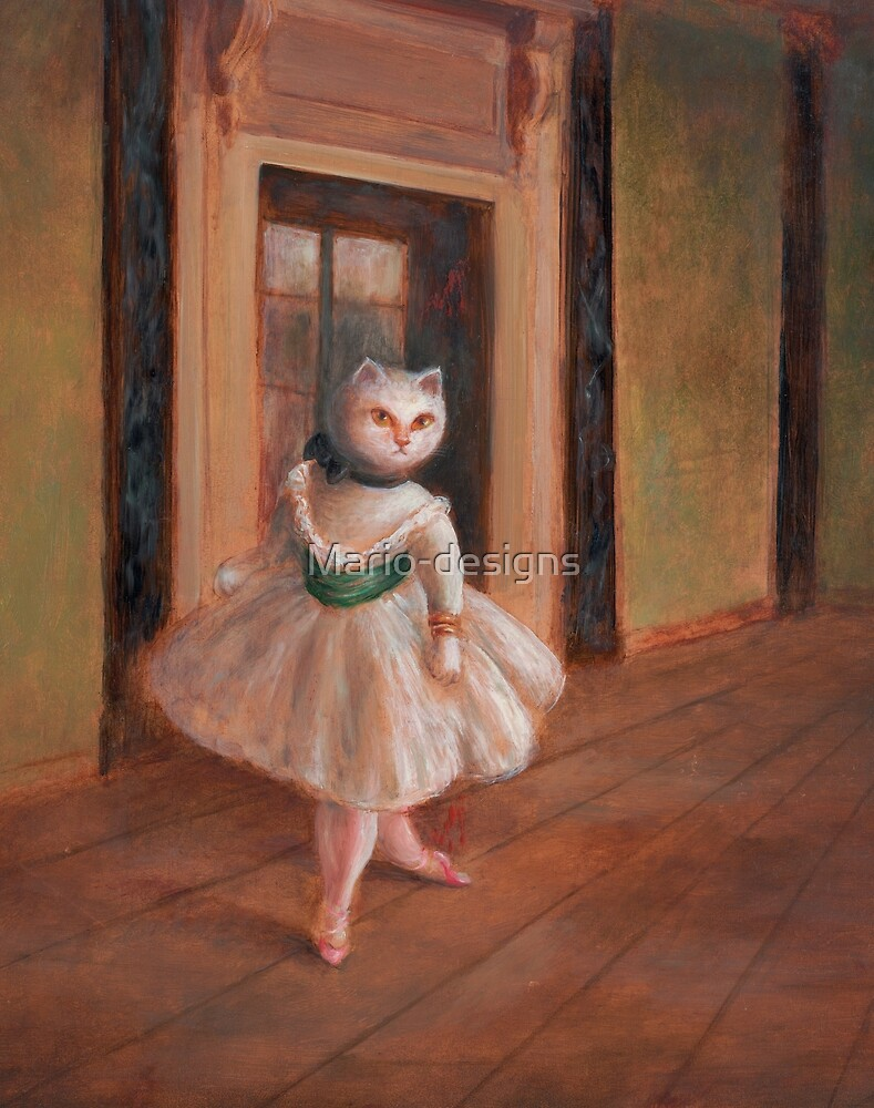 Degas Cat by Mario-designs