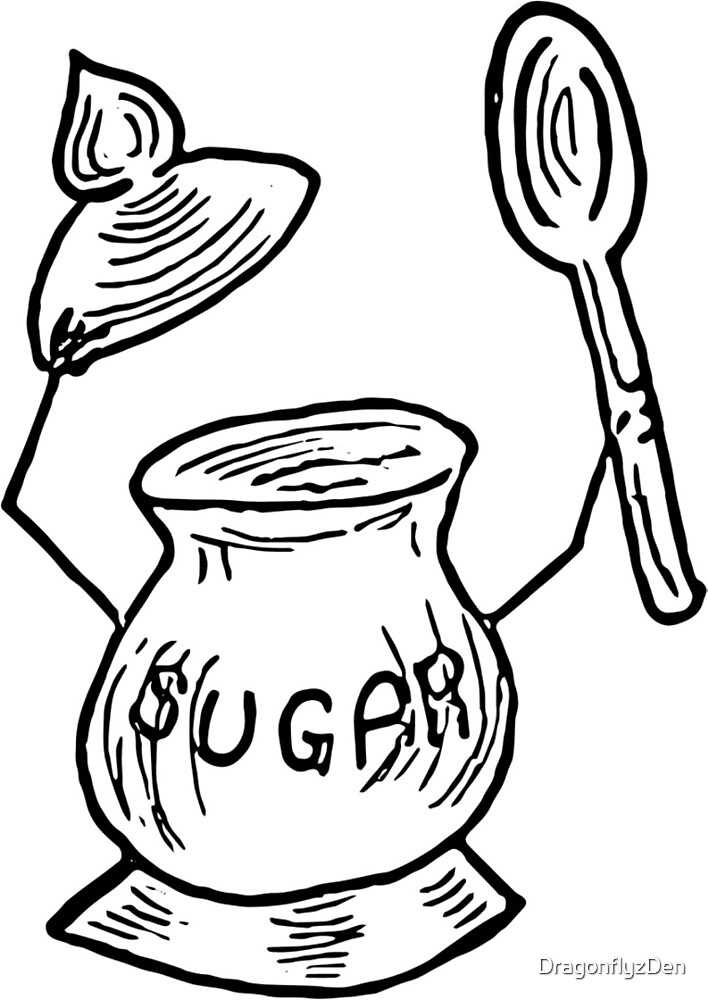 Sugar Pot is Oh So Sweet! by DragonflyzDen