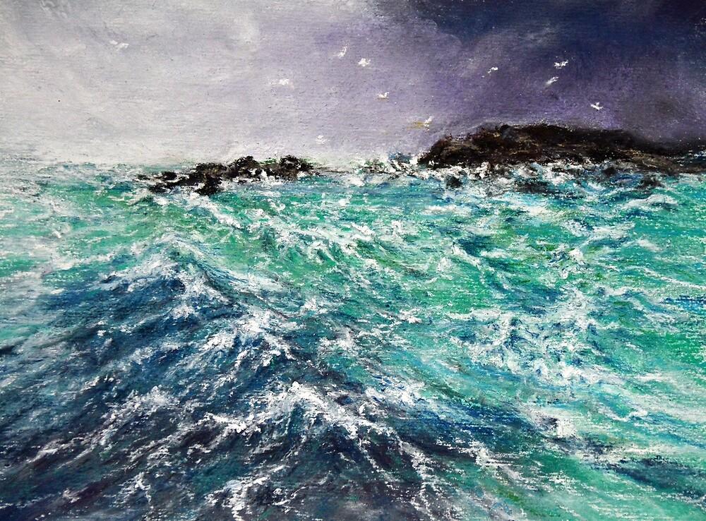 Choppy Sea by Alexandra Lavizzari