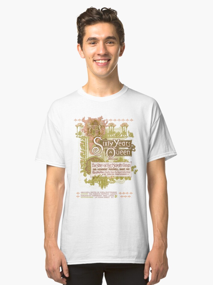 Sixty years a Queen Classic T-Shirt Front