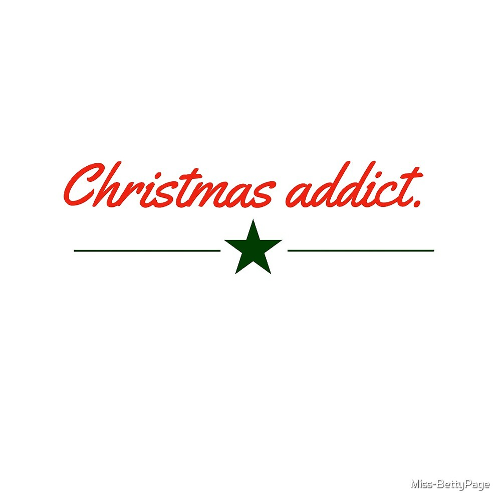 Christmas addict by Miss-BettyPage
