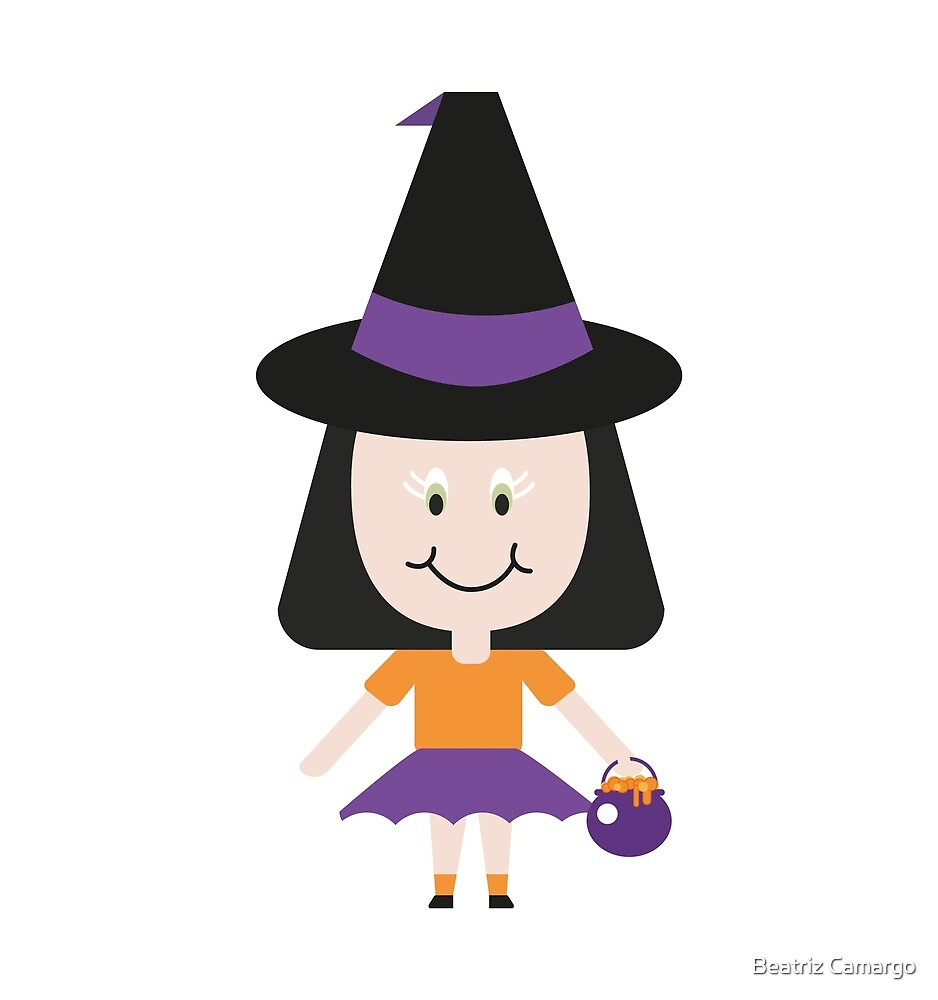 My little witch by Petitxuilus