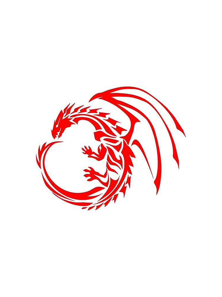 Red Dragon | Awesome Dragon | cruxdesigns by cruxdesigns